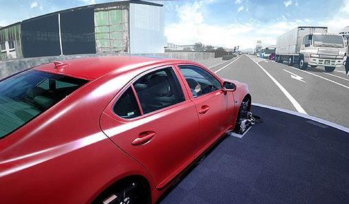 转向盘自由行程_ErgoSIM智能驾驶模拟器_北京津发科技股份有限公司